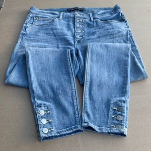 Express Jeans Ankle Legging Size 10